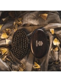 Szczotka do brody z dzikiem